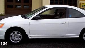 2002 Honda Civic Lx Coupe 2-dr Vtec At -  4 995