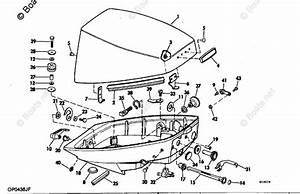 Johnson Outboard Parts By Hp 15hp Oem Parts Diagram For Motor Cover