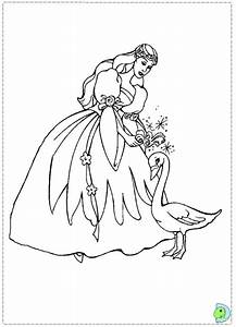 Barbie Swan Lake Coloring Pages - AZ Coloring Pages