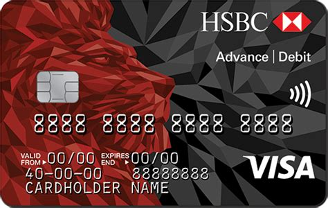 New Hsbc Debit Card Lion Design