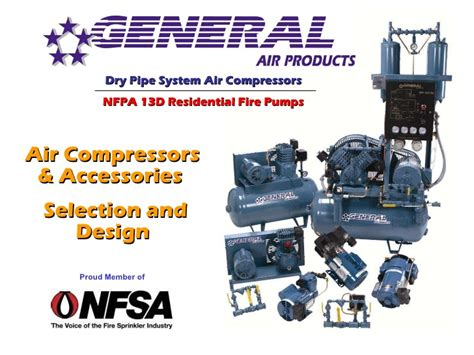 general air products inc protection air compressors selectio