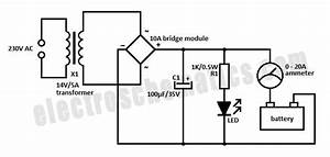car battery charger schematic diagram wiring diagram and With car battery circuit