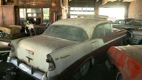 Secret Stash Of Classic Cars To Be Auctioned Off
