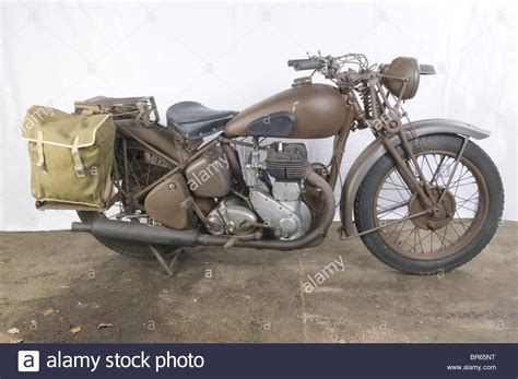 A Bsa 500 M20 Motorcycle., Built From 1937 On, The M20
