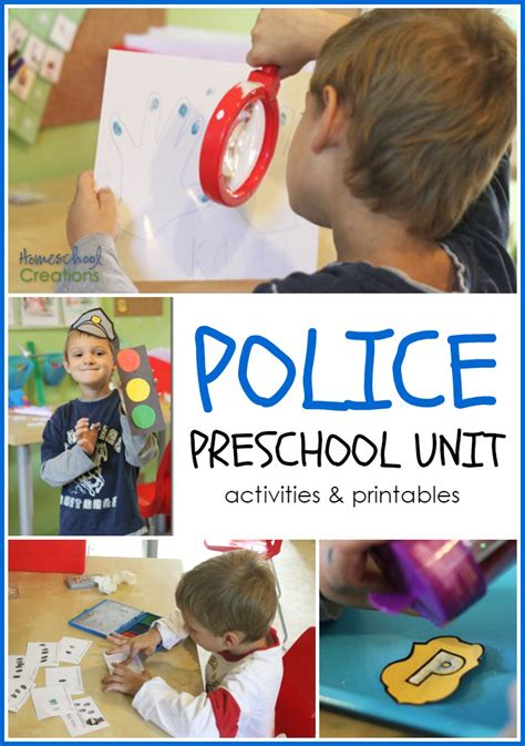 Police Office Preschool And Kindergarten Unit
