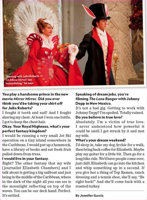 VJBrendan.com: Armie Hammer is Prince Charming!