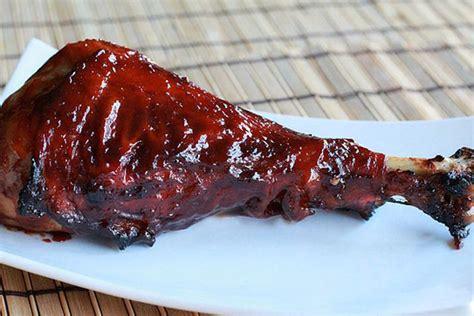 turkey leg smoked turkey legs with whiskey glaze recipe on food52