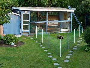 bildergebnis fur kaninchenvoliere selbst bauen hasis With französischer balkon mit hühner halten garten