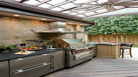 Modular for dining kitchen, covered outdoor kitchen