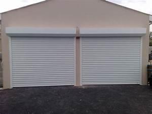 porte de garage enroulable sur mesure electrique somfy With porte de garage enroulable avec renovation portes interieures