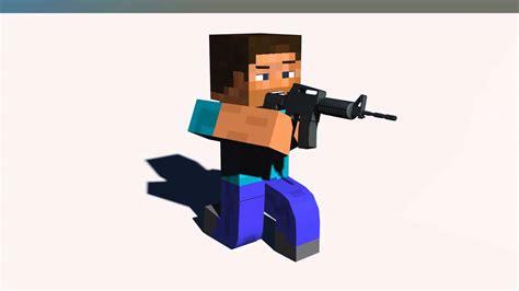 Steve Animaçao Minecraft