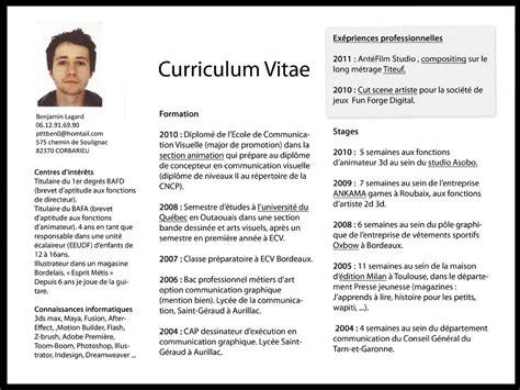 curriculum vitae cv netrent