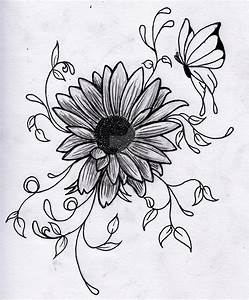 kristas flower drawing by green2106 on DeviantArt