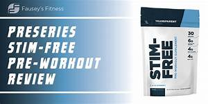 Transparent Labs Preseries Stim-free Pre-workout Review