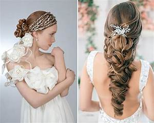 Romantic Greek Goddess Bridal Hairstyles for Women ...