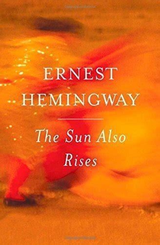 The Sun Also Rises : Book Cover Archive