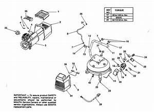 Makita Mac1200 Parts List
