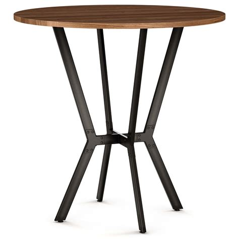 tables amisco norcross bar table   distressed