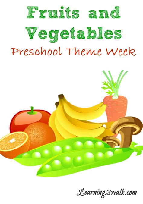 fruits and vegetables preschool theme week homeschool 954 | a688f323f117fafe9752df7a85e01899