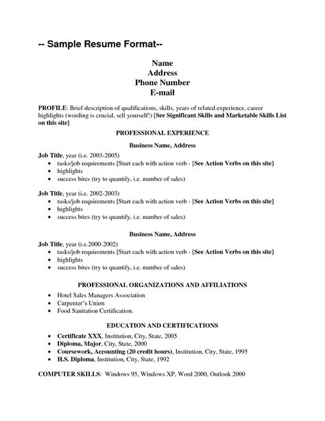 Skill List For Resume by Skills List For Resume Resume Cover Letter Template