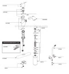 how to disassemble a moen kitchen faucet moen ca87666w parts list and diagram ereplacementparts