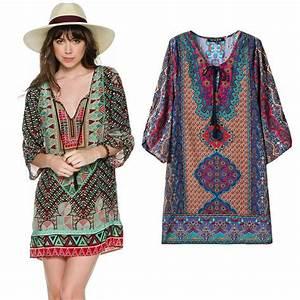 2016 New Style Summer Dress Brand Baroque Vintage Totem ...