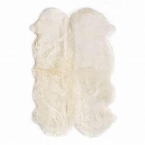tapis en peaux de mouton les enfants du design pour With tapis en mouton