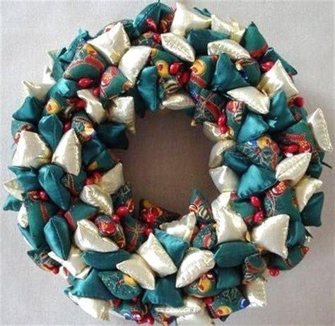 deco de noel en tissu faire decoration de noel en tissu visuel 7