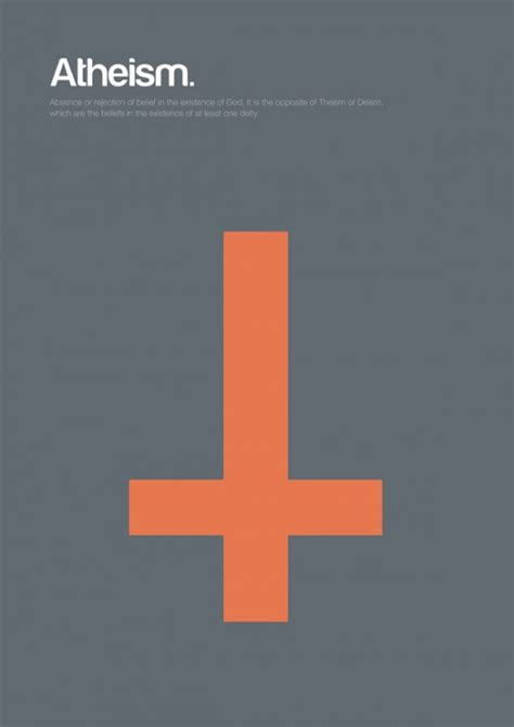 minimal philosophy poster series  genis carreras