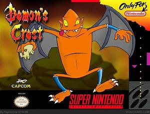 Demon39s Crest SNES Box Art Cover By Psychotime