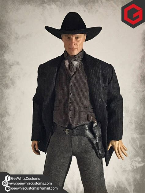Geewhiz Customs Man In Black Clothing From Hbo's Westworld Series