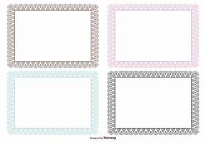 guilloche certificate borders download free vector art With legal size document frame
