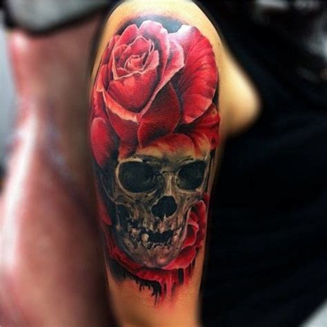 red rose tattoo images pictures  ideas