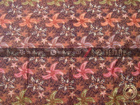 kemeja batik pekalongan lengan pendek motif sekar warna classic jual kain batik dobi motif anyaman tikar coletan