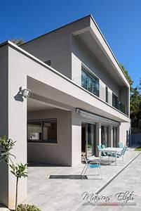 Maison En L Moderne : maison moderne et contemporaine avec piscine l 39 ouest de lyon maisons elytis lyon ouest ~ Melissatoandfro.com Idées de Décoration