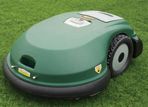 roomba mower robotic mower prunes lawn bank balance wired
