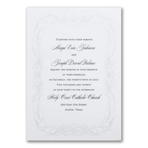 Modern Pearl Invitation Pearl invitations Wedding