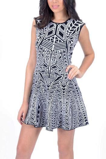 Mini Dress Knf 1374 pattern mini dress from santa by undercover fashion
