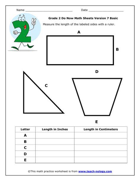 measurement worksheets grade 2 1 homework