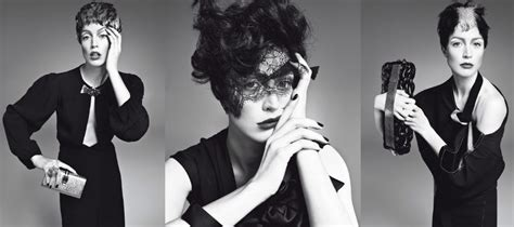 Raquel Zimmerman's Vogue-Italia Chameleon-Chic Layout