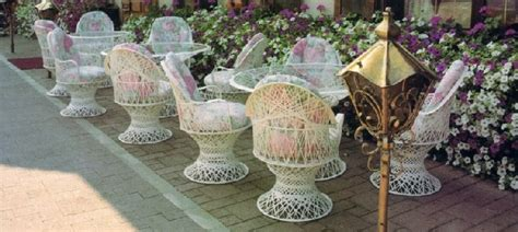 fiberglass outdoor wicker furniture manufacturer master