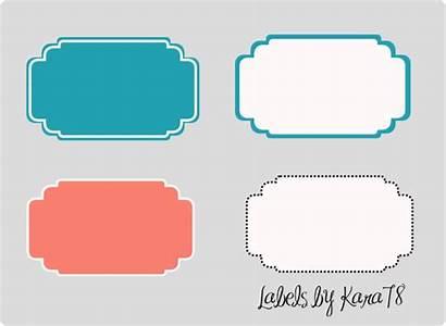 Decorative Clip Labels Clipart Label Shape Vector