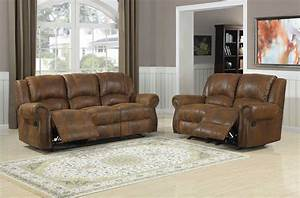 Homelegance quinn reclining sofa set bomber jacket for Sofa bed and recliner chair set
