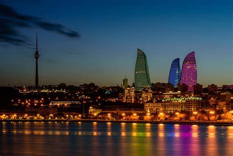 beautiful architecture  baku azerbaijan