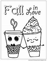Coloring Pages Spice Pumpkin Valentine Everything Mycupoverflows Johnson Falling sketch template