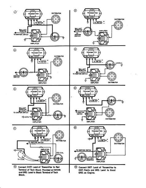 Vintage Sun Tachometer Wiring Diagram Online