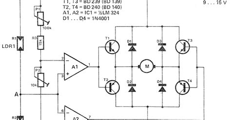 How To Make A Simple Solar Tracker Circuit
