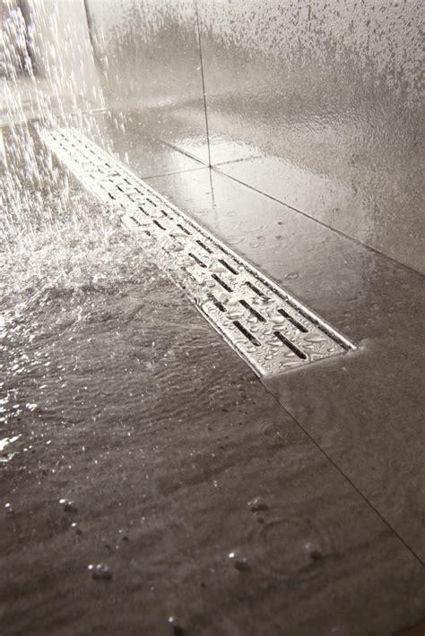 Install A Shower Drain easy drain compact linear shower drain