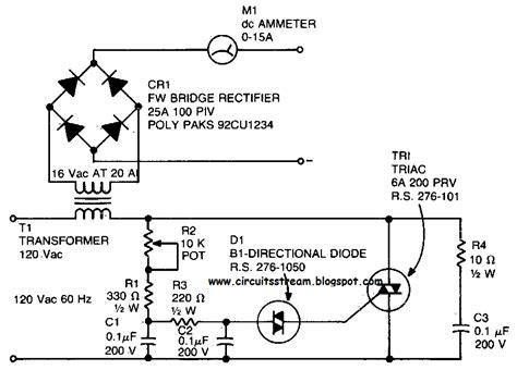 Simple Battery Charger Circuit Diagram Electronic
