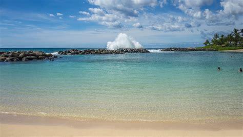 photo lagoon ko olina oahu hawaii  image
